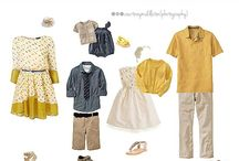 Family Wardrobe Ideas for Shoots / by Cheri Wenger