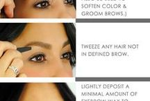 Eyes and Brows / Easy tip to DE-AGE yourself