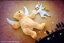Lullabies and sleeping babies / A collection of music videos to help soothe and relax the little ones for nap and sleepy times, creative images of #sleeping #babies, and some #lullaby imagery