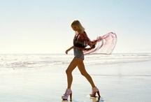 beach and love