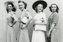 1940s Fashion / Get inspired by vintage 1940s clothing and shop for new 1940s style fashion from around the web. 1940's dresses, shoes, and accessories. / by Vintagedancer.com
