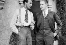 1930s Fashion for Men / Vintage photos and new clothing for men. All about the era of 1930's a time when golden Hollywood made men heroes. / by Vintagedancer.com
