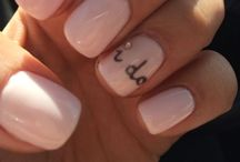 Nails <3 / A woman is defenseless until her nails are dry ;)