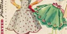 Vintage Aprons / A collection of new and vintage aprons for sale, apron history, kitchen accessories and other things that keep you cooking and baking in retro style.