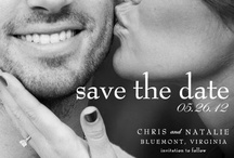 { the wedding: paper } / { invites, thank yous, guestbooks, and more }