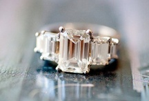 { the wedding: ring } / { diamonds are a girls best friend }