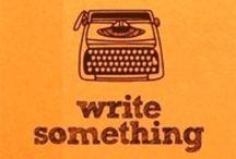 Write / by Claudine Morgan
