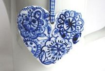 Blue & White / by Maureen