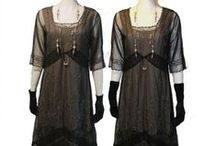 Downton Abbey Inspired Clothing for Sale / Recreate the beautiful style of Downton Abbey clothing with new, vintage inspired, teens and 20's dresses, shoes, hats, jewelry and more. Start shopping at http://www.vintagedancer.com/fabulous-downton-abbey-style-clothes-to-wear-today/