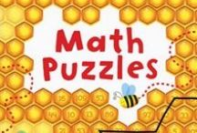 Kids - Math & Numbers / Educational & fun resources for parents, teachers, and homeschoolers to help kids learn about counting, numbers, fractions, geometry, percentages, multiplication, division, and other mathematical concepts.  / by Nicole Kiska at Usborne Books