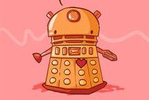 ::Timey Wimey:: / Doctor Who? / by Nicole Kiska at Usborne Books