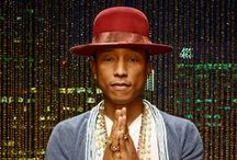 #TeamPharrell / Meet the artists Pharrell Williams turned his chair for!