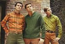 1960s Men's Fashion / Vintage photos and illustrations of men's fashion in the 1960s