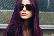 Purple Hair / Mes inspirations capillairement violine !