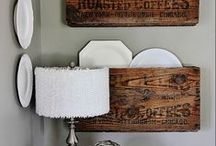 For my home / Project ideas to share with my talented hubby.