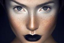 Artistic makeup / Maquillages artistiques qui m'inspirent