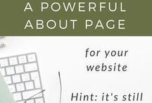 Website Strategy & Design Tips / diy website, website design tips, web design for beginners, create your own website, web design 101, web basics, website inspiration, copywriting, about page tips, website copy, Squarespace tips, WordPress tips, Showit tips, how to design my own website