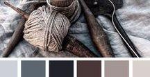 Branding: Color Palette Inspiration / brand inspiration, brand designs, logo design, logo inspiration, branding, color palette, moody color palette, purple color palette, green color palette, creative brands, floral brand, Pacific Northwest branding, branding for entrepreneurs