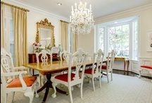 Delightful Dining Rooms / Luxury dining rooms for dining in style! See more at http://updatethemetroplex.com / by Update Dallas