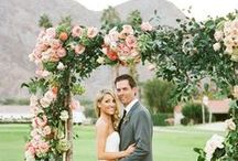 Flowers|Arbors, Arches, Chuppahs and Sides / by Parsonage Events