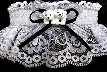 Animal Print Garter / The Hunt is Over with this selection of animal print garters for wedding bridal or prom. You can personalize your garter with your names and event. / by garters.com