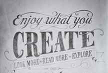 Typography / Fonts, fonts, and more fonts! We're pretty obsessed here at Signazon.com.