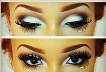 make-up and nails.