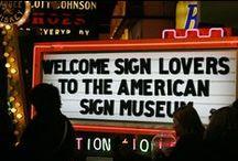 Vintage Signs / The oldies & the goodies.