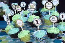 children's birthday / Baby Boy 1st Birthday planning - dinosaur themed!