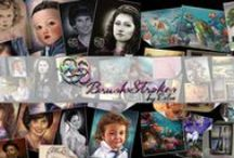 Brush Strokes by Estee / Portraits, Murals, Fine Art by professional artist, Estee Klein of Brush Strokes by Estee