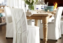 Dining Spaces / Inspiring and beautiful dining rooms, eat in kitchen and banquettes.