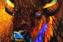 Monica Moody Art / Painting, alcohol inks, mixed media, illustration, pyrography, leatherwork.