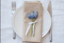 Dining & Table Settings / creating the right atmosphere