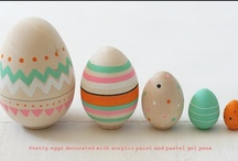 Easter / lets paint those eggs