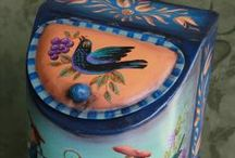 DECORATIVE PAINTING... / by Debbie Antrim
