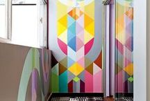 Wall Styles / a collection of inspiring wallcoverings... / by Anna H. Fane Interior Design, ASID