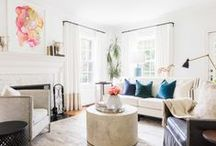 INTERIOR | Family & Living Rooms / Beautiful living room designs
