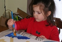 Kids' Crafts / Easy and fun craft projects for children to make for holidays, or any time. I especially like crafts for kids that let them create artwork that is attractive, interesting or useful, without requiring skills that are too advanced.