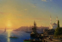 İstanbul gravürleri&yağlıboya resimleri