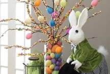 Holiday ~ Easter & Spring ~ Crafts, Recipes, Decor, Baskets, Treats,etc. / Easter and Spring themed crafts, decor, baskets, recipe and treat ideas, and little gifts are found here. Flowers, bunnies, chicks, and carrots are featured in abundance as signs of the season! / by Christina Mendoza