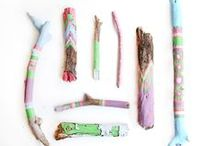 Sticks - Logs - Driftwood / dressed to stick-out