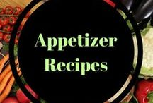 Appetizer recipes / Yummy appetizers and healthy sides for holidays, events and family gatherings.