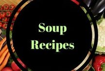 Soup recipes / Hearty, delicious soups for those colder days.  Warm soups when you want a cozy meal.