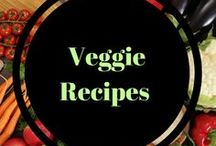 Veggie recipes / veggie main and side dishes, how to marinate them and how to prepare them! #Alltheveggies