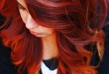 Redhead love/ HAIR / by Laura Miller