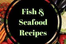 Fish and Seafood Recipes / Full of omega's and so many nutrients, these seafood recipes will not only keep you healthy but taste amazing! Easy ways to increase fish in your diet.