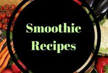 Smoothie recipes / smoothies, smoothie bowls, green smoothies. Recipes filled with nutrients!