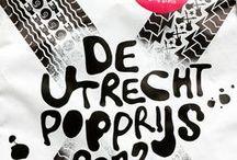 Utrecht Popprijs / Ideeen en beeld voor nieuw ontwerp artwork, logo en site