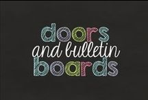 doors and bulletin boards