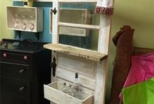 Upcycled Doors / by Rediscovered Furniture
